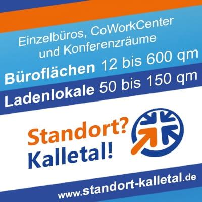 Einzelbüros, CoWorkCenter und Konferenzräume im Kalletal